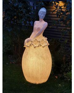 Blütenlicht Dame Amalia, groß, Kunststein