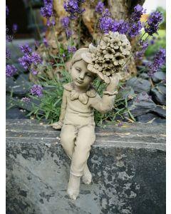 "Blütenkind ""Strauß-Glockenblume"", Resin"