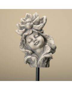 Blumenkind Seerose, Resin betonfarbig