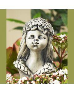 Blumenkind Frühling, Resin, betonfarben