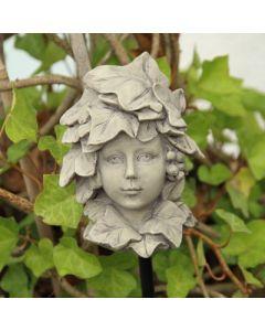 Blumekind Efeu, Resin, betonfarben