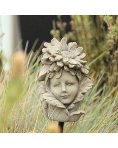 Blumenkind Aster, Resin, betonfarben
