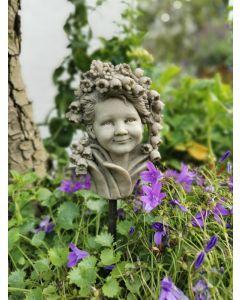 Blumenkind Maiglöckchen, Resin, betonfarben