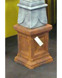Säule aus Steinguss, EDITION OXID