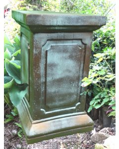 Säule geeignet für Engel Rachel, Bronze