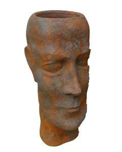 "Pflanzgefäß Gesicht ""Mann"", Edition Oxid"