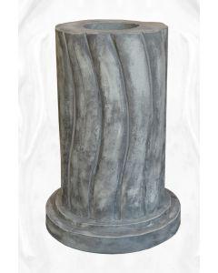 geschwungene Säule, rund, Steinguss (f. 116040)