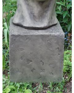 Säule für kleines Gesicht MANN, Steinguss