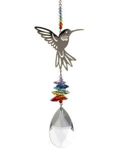 (8070-HUM-R) Phantasie-Kristall Kolibri, groß