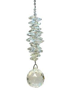 (2300-7630-CRY) Kristall-Kaskade, groß