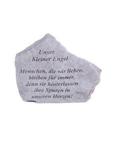 """Gedenkstein """"Unser Kleiner Engel..."""""""