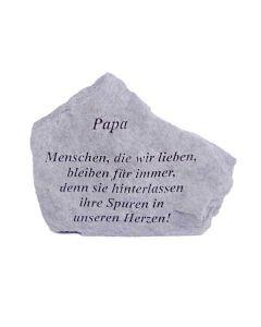 """Gedenkstein """"Papa..."""""""