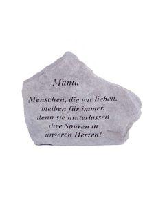 """Gedenkstein """"Mama..."""""""