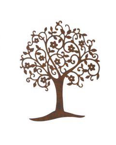 Wandbild Baum Arbol, Eisen