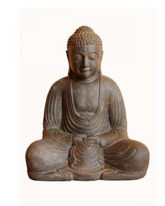 (P-SB7-040AF) kleiner japanischer Buddha, Steingus