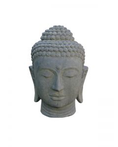 (PL-WGBH01-075AF) Buddha-Kopf als Wasserspiel
