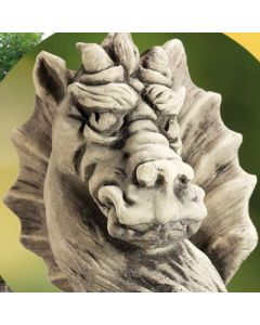 Gartenwächter Draco, Betonguß