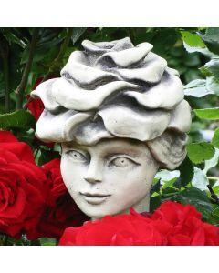 Blumenkind Edelrose, Betonguß,