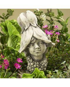 Blumenkind Abutilon, Junge, Betonguss,
