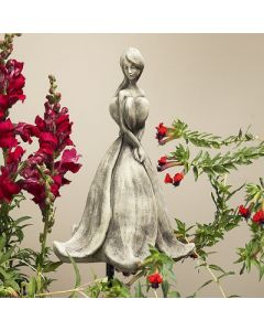 Blütentänzerin Abutilon, Betonguss, für Met