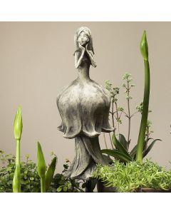 Blütentänzerin Maiglöckchen, Betonguss, für Metall