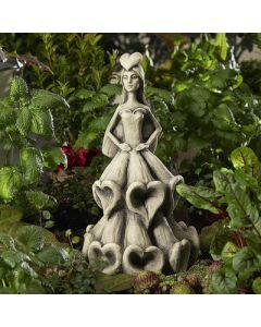 Blütentänzerin Fingerhut, Betonguss, für Metallstä