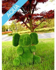 Garden Plush Aqua Elefant, groß