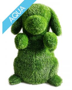 Garden Plush Aqua Hund, groß