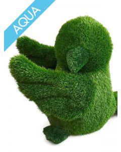Garden Plush Aqua Vogel, mittel