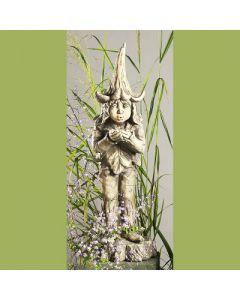 """Gartenfigur """"Lichtertroll"""", Betonguss"""