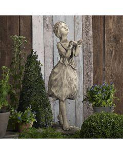 """Blütendame """"Tulpe"""", Betonguss"""