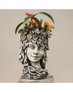"""Blütentopf """"Frühling"""", Betonguss"""