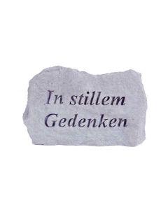 """Gedenkstein """"In stillem Gedenken"""", Steinguss"""