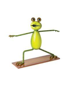 Yoga Frogs - Der Krieger