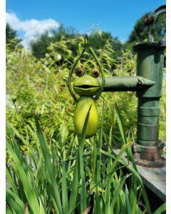 Yoga Frogs - Der Baum, Gartenstecker, klein