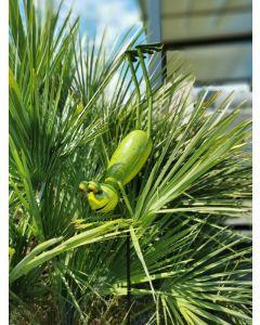 Yoga Frogs - Der Taucher, Gartenstecker, groß