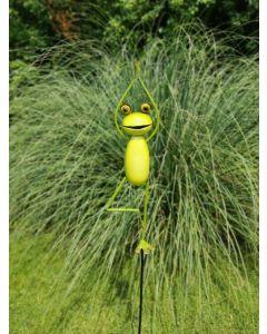 Yoga Frogs - Der Baum, Gartenstecker, groß