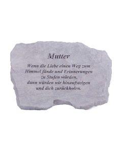 """Gedenktafel """"Mutter..."""""""